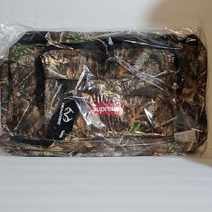 New Supreme FW19 Real Tree Camo Duffle Bag